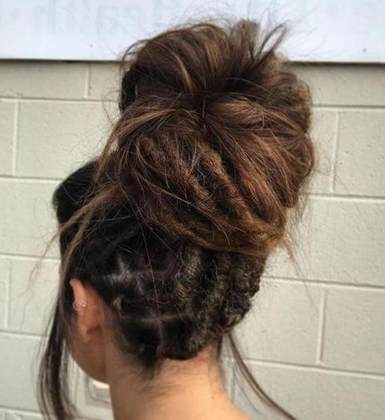 2021 dreadlock hairstyles for women