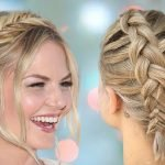 Braided short hairstyles for 2021-2022