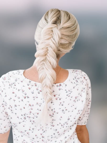 Fishtail braid hairstyles for 2021-2022