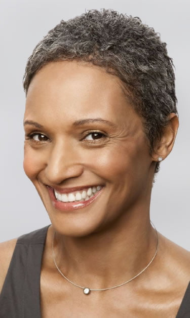 Short haircuts for women over 50 in 2021-2022