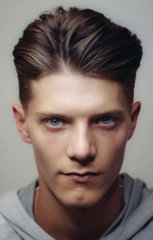 Pompadour hairstyles for 2021-2022