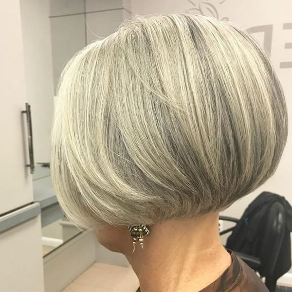 Short Bob Haircuts for Women over 60 in 2021-2022