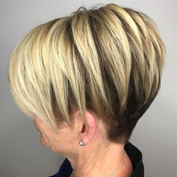 Short Bob Haircuts for Women over 60 in 2021-2022 - Hair Colors