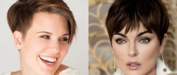 Short hairstyles and haircuts for women in 2021-2022