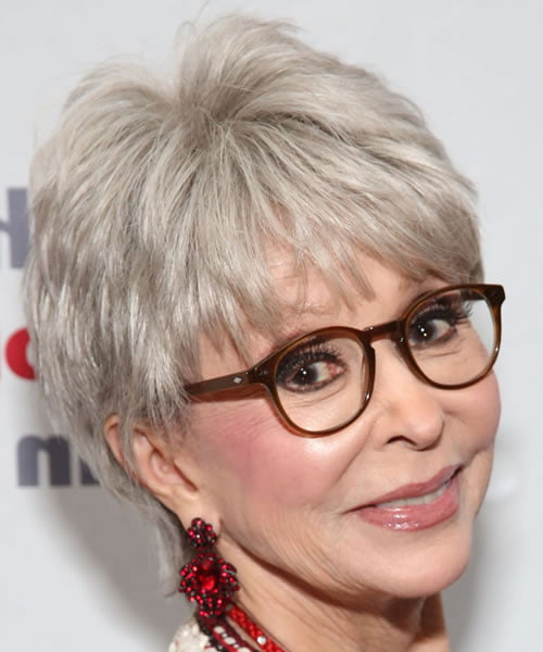 short hairstyles for women over 50 with glasses in 20212022