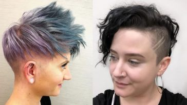 Undercut short haircuts for women 2021-2022