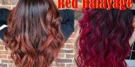 Red Balayage Hair Colors 2021-2022