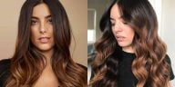 Brown ombre hair colors in 2021-2022
